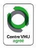 Logo des centres qui s'occupent de la destruction des véhicules hors d'usage - plus de détails dans le texte suivant l'infographie