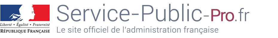 Accueil Service-Public-Pro.fr