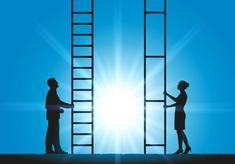 échelle - inégalité homme femme - discrimination