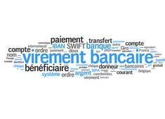 virement bancaire - paiement - banque - transfert - compte