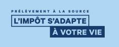 Logo du prélèvement à la source