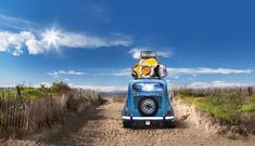 Départ vacances en voiture
